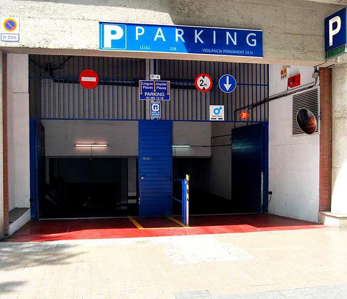 Parking Poblenou - Parking Llull 219